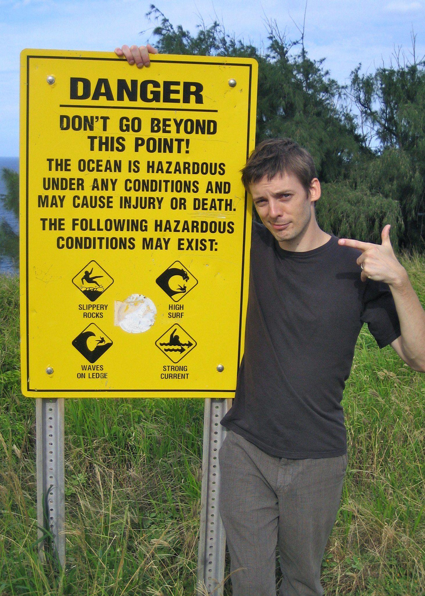 Andy Fossett in Maui